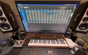 Flock Audio Patch software interface